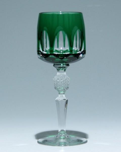 Nachtmann Bleikristall Überfangrömer ANTIKA - smaragd