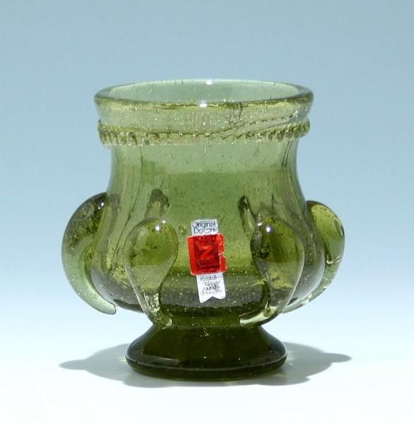 Mundgeblasene Vase - Schott in Zwiesel 1970er Jahre