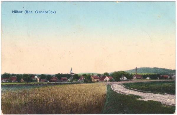 Ansichtskarte - HILTER - gelaufen 1912