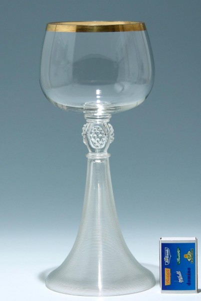 Großer Josephinenhütte Pokal um 1900 - 26,9 cm