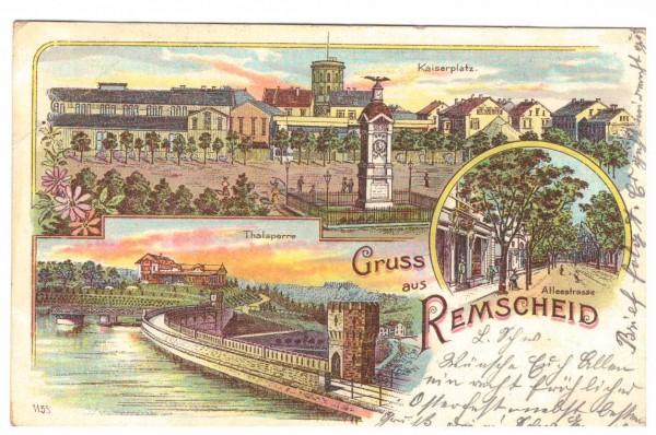 Ansichtskarte REMSCHEID - gelaufen 1903 #ak0038