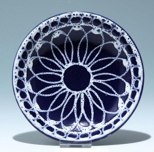 Kleiner Keramik Wandteller 2. H. 20. Jh. - 17,4 cm