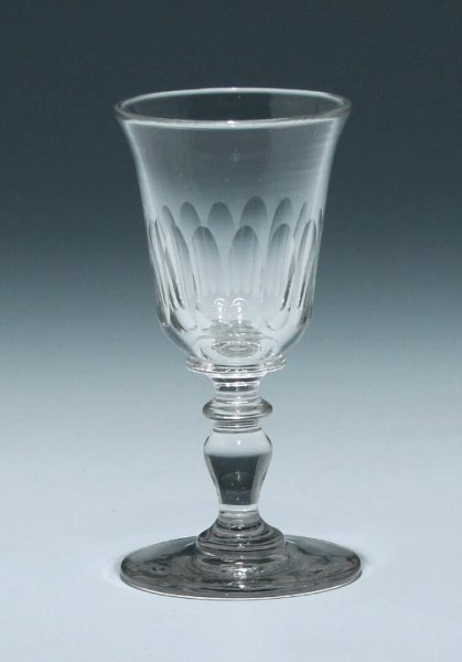 Kelchglas Frankreich 19. Jh. - Höhe 11 cm