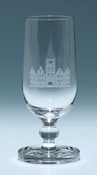 Süssmuth Kelchglas KASSEL - Entwurf Hans-Theo Baumann, Schliff Rotter in Lübeck