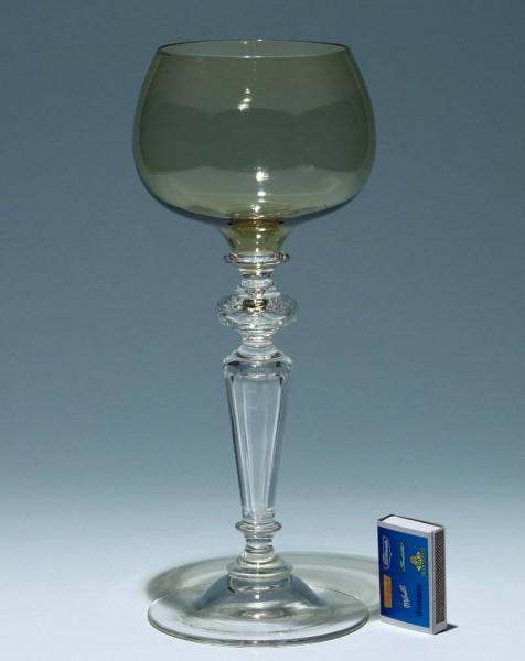 Hoher Historismus Weinrömer Pokal um 1900 - Höhe 29 cm