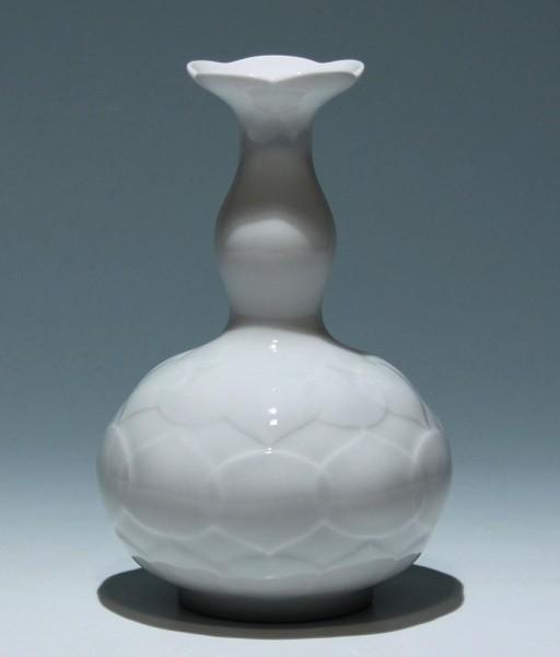 Meissen Lotus Vase Entwurf Ludwig Zepner 1960er Jahre - 2. Wahl