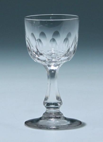 Kelchglas Frankreich circa 1900 - Höhe 11,4 cm