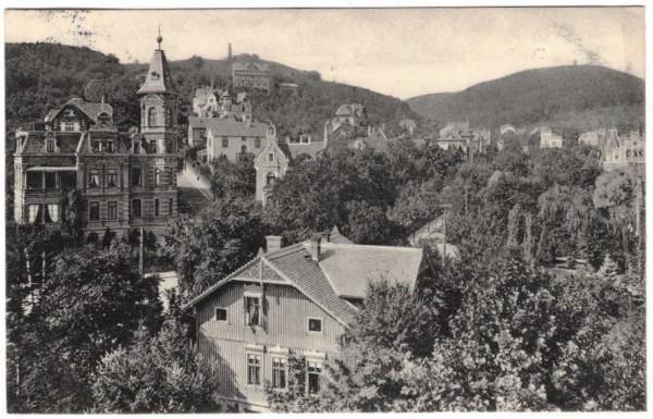 AK - BLANKENBURG - gelaufen 1912