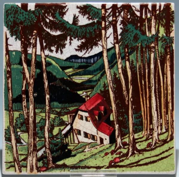 Rosenthal Keramik Fliese 1950-60er Jahre-Copy
