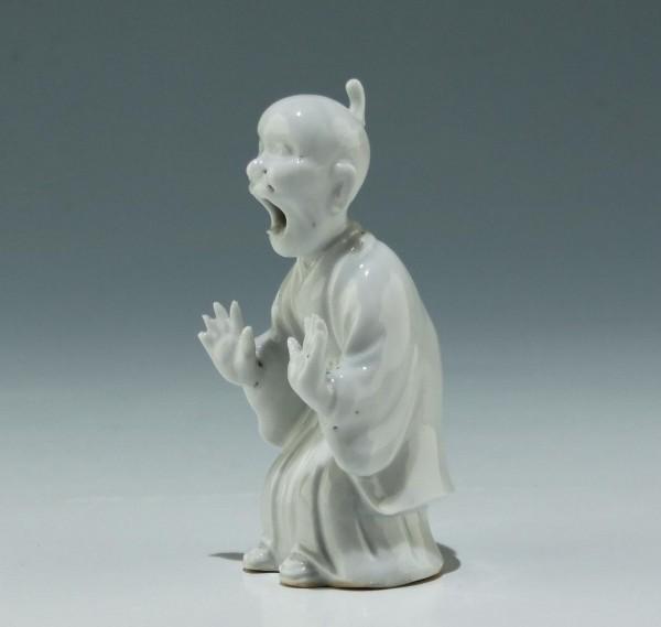 Chinese Blanc de Chine Dehua Porcelain Figure - 19th. C.