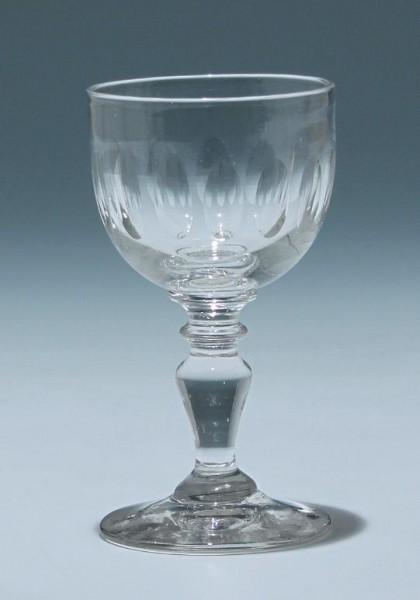 Kelchglas Frankreich circa 1900 - Höhe 11,8 cm