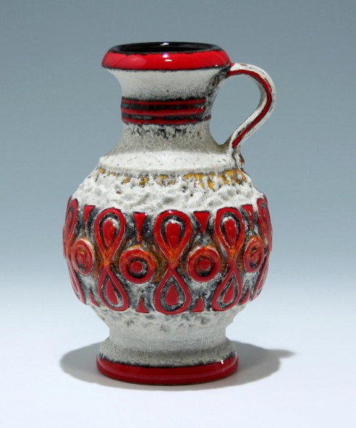 Bay Keramik Vase 1722/21 1960er Jahre