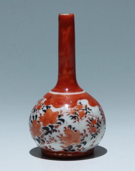 Small Japanese Kutani Vase - 12 cm - circa 1900