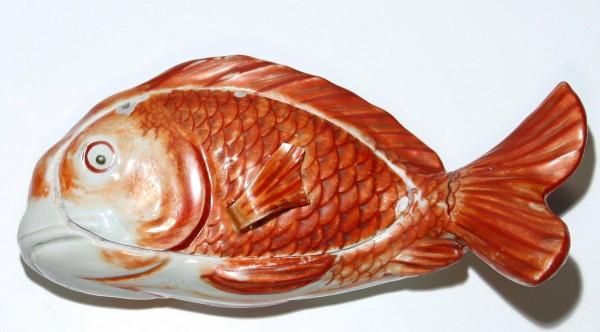 Japanese Meiji Goldfish Tureen - same as sold at CHRISTIE´S NEW YORK