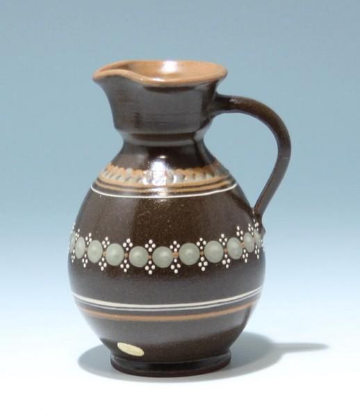 Tellingstedt Keramik Kanne - handbemalt