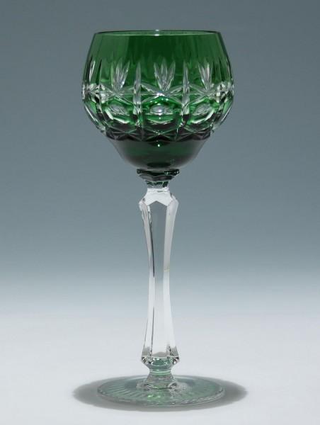 Bleikristall Überfangrömer - 2. H. 20. Jh. - smaragd