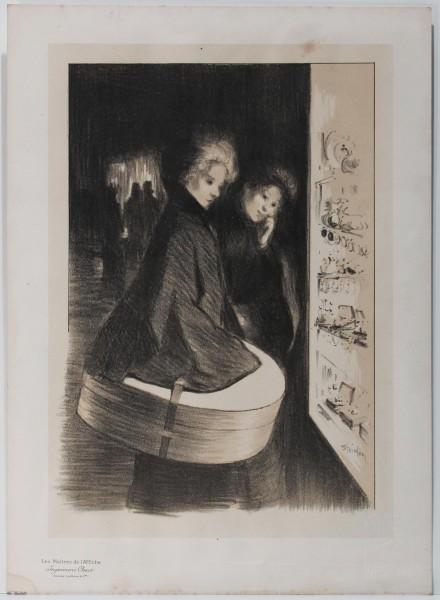 Les Maitres de l'Affiche - TWO WOMEN - by Théophile-Alexandre Steinlen