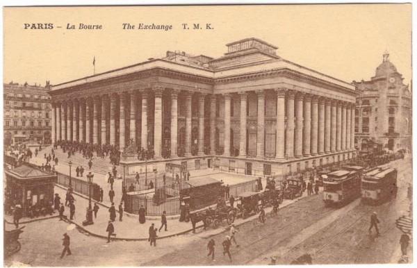 Ansichtskarte PARIS - La Bourse #ak0056
