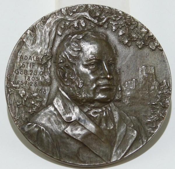 Medaille ADALBERT STIFTER 1905 von Franz Xaver Pawlik