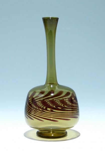 Lampengeblasene Vase DDR 1960/70er Jahre 24,1 cm