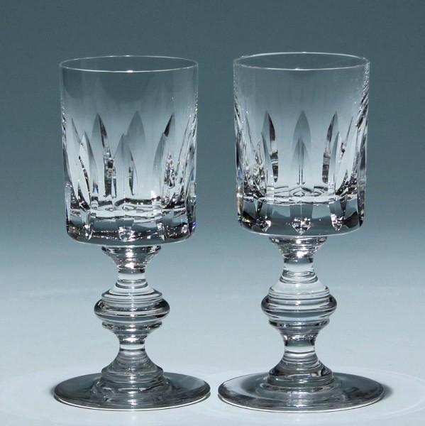 Paar Riedel Bleikristall Kelchgläser - Serienname leider unbekannt