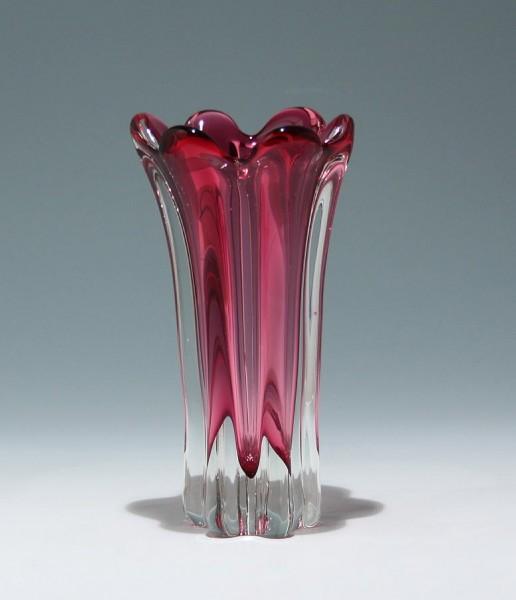 Bleikristall Vase Böhmen - Tschechoslovakei circa 1970