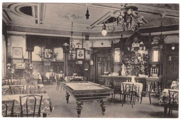 Ansichtskarte REMSCHEID - HOTEL MONOPOL - gelaufen 1910 #ak0065