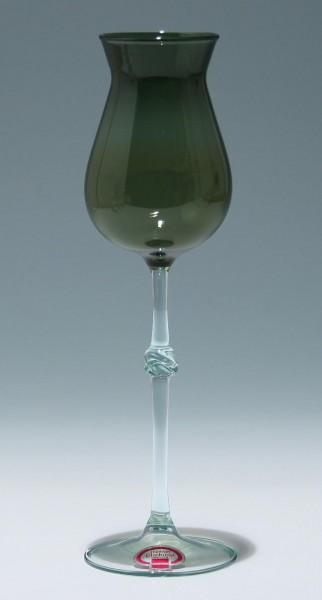 Lampengeblasene Vase DDR 1960/70er Jahre - 25,7 cm-Copy