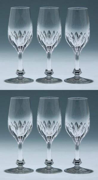 6 Nachtmann Bleikristall Sherrygläser ISABELLA 16,2 cm