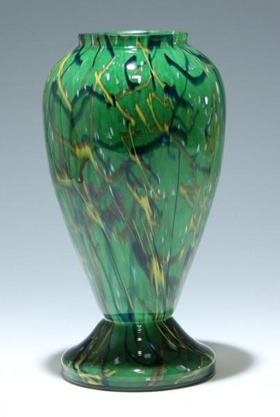 Große Art Deco Vase Böhmen um 1925