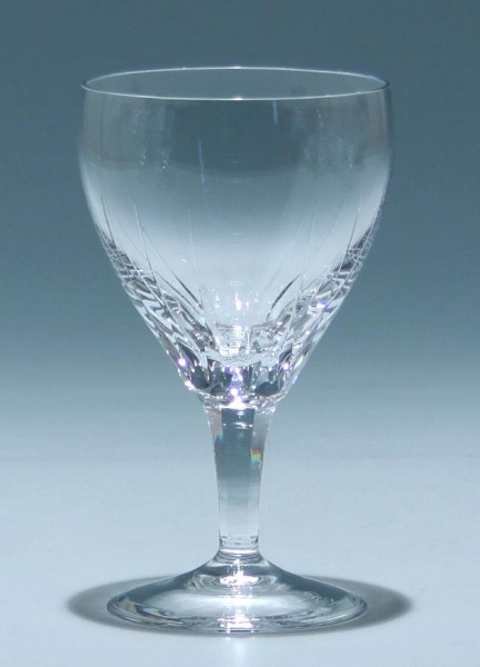 Josephinenhütte Weißweinglas DORETTE 1950er Jahre
