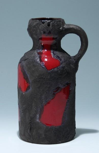 Große Lava Keramik Vase - Marei um 1970
