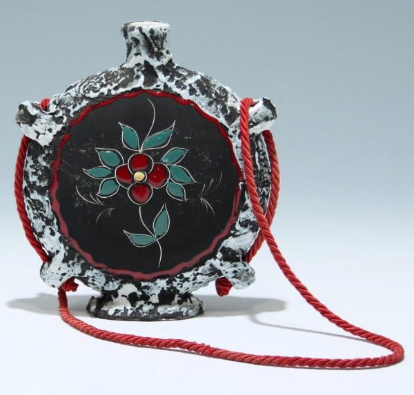 San Marino Keramik Flaschenvase Italien 1950er Jahre
