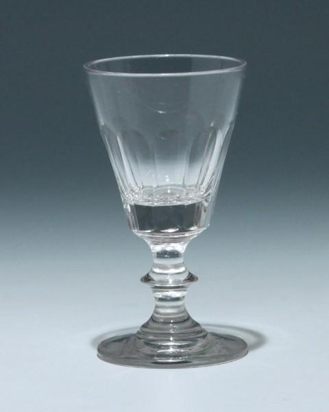 Bleikristall Kelchglas Frankreich 19. Jh. - Höhe 11,8 cm