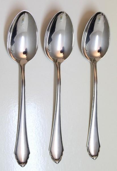 3 BSF Menulöffel Form 96 - 90er Auflage - Länge 21,3 cm