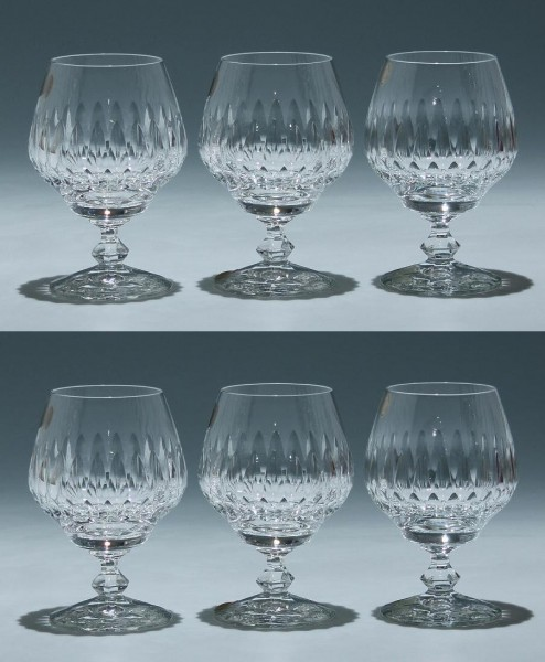6 Schott Bleikristall Cognacgläser ALMERIA