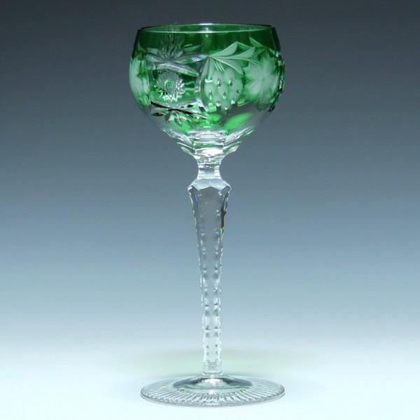 Nachtmann Bleikristall Römer TRAUBE - smaragdgrün